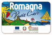 """#RomagnaVisitCard / A project called """"Romagna Visit Card"""" I have been working for since 2013. You can find a few itineraries on my blog,created using #RomagnaVisitCard"""