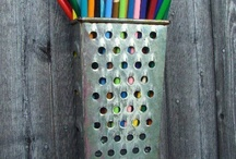 Kitchen Tools Recycling / Fantastic ideas on how to recycle your old kitchen tools