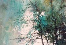 Dipingere alberi