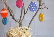 Easter crafting and decoration