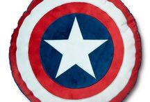 Captain America Shield Room Inspiration