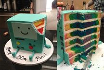 Adventure Time Cakes