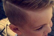coiffure petit garçon