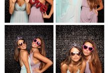 Donald & Amanda Marie #UhOhCicero 6/25/16 / Brooklyn wedding, Liberty Warehouse, Wedding Photo Booth, Black sequin backdrop, photo booth props, photo booth