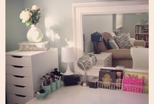 Makeup storage / Makeup storage. Dream makeup rooms, storage solutions.