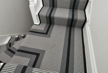 Off The Loom Stair Runner |  Point 1 (double mitred)