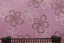Floral stencils / Floral stencils and drawings