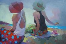Love these Figurative Paintings / Paintings of figures that I like, that inspire me.