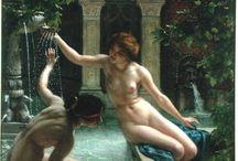 Pre Raphaelite / Pre Raphaelite and Pre Raphaelite inspired things