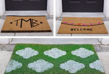DIY Doormat Crafts / We share step-by-step instructions for these 3 easy crafts! http://wayfair.ly/14j9KZB / by Wayfair.com