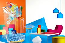 Colorful Commercial Spaces