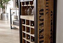 muebles rusticos bar y vs
