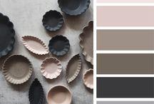 ○• Kleurcombinaties