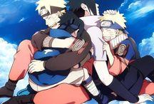 Sasuke/Naruto friends