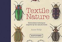 'Textile Nature' book / Information, reviews and images from my second book, published by Batsford Press, July 2016