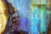 Rocks and cristals
