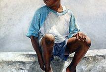 Sheldon Saint / Bahamian artist