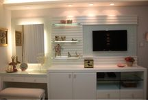 VANITY / vanity, vanity design, make up organization, make up storage, make up place, beauty room, make up room, make up space