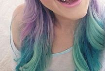 Pastel Hair / Pastel colours