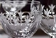 Foto szkło i kryształ