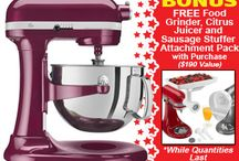 Mix it Good! Stand Mixers & Accessories