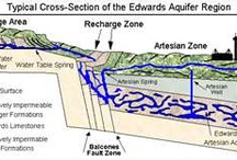 Edwards Aquafir - Water Supply / Water is in short supply in San Antonio and surrounding areas, so preservation is necessary every day.  The local government agency sets the level of restriction based on the water level in the Aquafir. / by Linda T