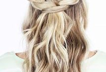 Hairstyle straight hairs