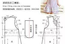 Выкройки детских платьев,блузок,сарафанов,брючек и т.д.
