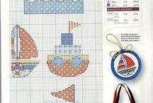 Cross Stitch - Sea stuff