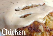 Chicken Fried and Fried Chicken!! / by Karen Rowland