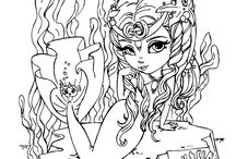 coloring pages / by Beverly Martin