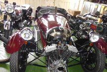 Morgan 3 wheeler  - Dark red Super Sports 1937