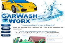 CarWash Worx Website Design