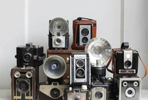 Vintage Camera Love / The goodness of the old vintage cameras and the histories they could tell.  / by Debbra Obertanec