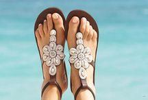 Verano sandalia