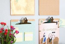 Boxes Made from Paper / Using paper and cardboard for organizing your home!