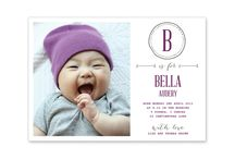 BABY ANNOUNCEMENT CARDS / Personalised Baby Announcement Cards