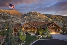 Rustic Elegance / Custom built home with a rustic style.
