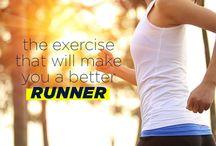 The exercises for better running
