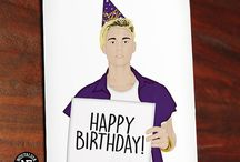 Pop Culture Birthday Cards / Birthday Cards with Classic Song and Movie References/