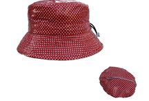 Summer Shower Rainhats / Unexpected showers in the #summer #rainhats  #fashion #women