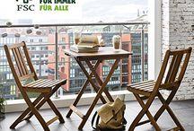 Gartenmöbel Sets / Ideen, den Garten, Terrasse oder Balkon noch schöner zu machen.