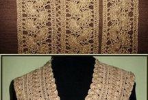 crochet  waist jacket