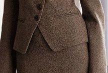 драповый костюм