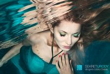 Underwater faces / Photography/ Fashion