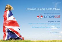 BREXIT / The #BREXIT referendum is coming up on 23rd June. Are you Voting?  Here in simplecall, we passionately believe in accountable governance and European governance completely lacks accountability.  We therefore promote the case for BREXIT!