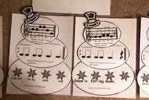 Seasonal Music Crafts