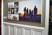 Portrait Wall Gallery Ideas / Portrait wall galleries