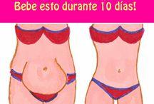 Reducir el estomago co curcuma