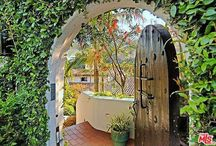 entrance gate&porch